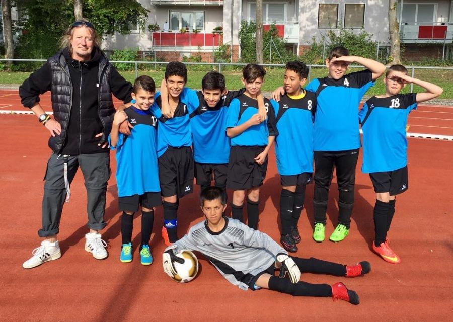 2017 Fußball Schulmannschaft