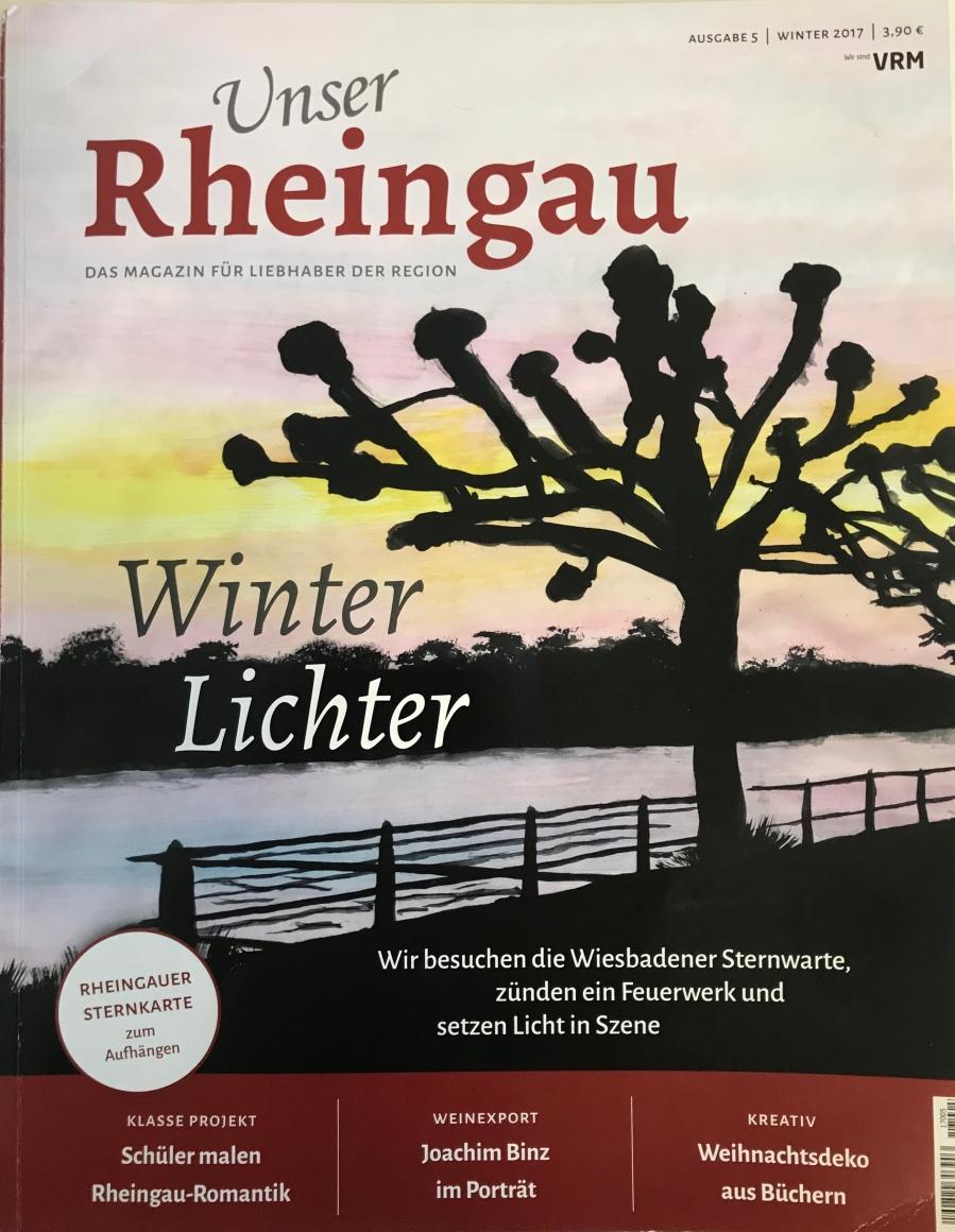2017 Unser Rheingau Titelbild